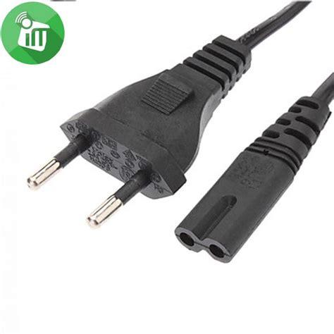 Ac Power Cord Europe & Egypt Plug Prong Iec C7 Imediastores