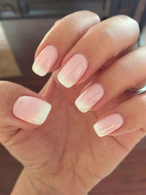 Best 25+ Shellac french manicure ideas on Pinterest