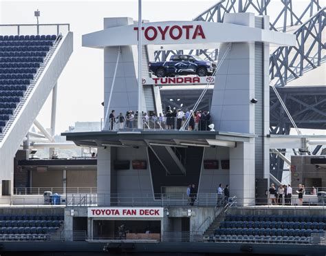 toyota fan deck tickets with new deck seahawks cater more to quality than