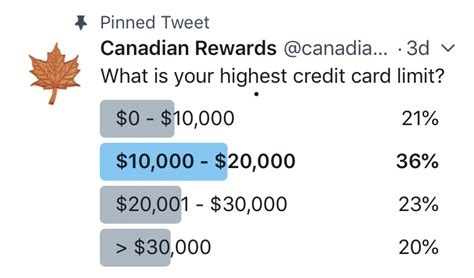 Compare the best credit cards with high credit limit. Canadian Rewards: What is your highest credit card limit?