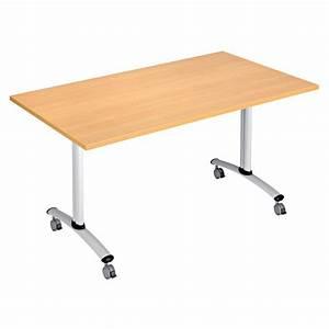 Table 140 Cm : table basculante flip 140 cm x 80 cm ~ Teatrodelosmanantiales.com Idées de Décoration