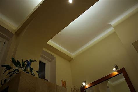 indirect lighting for shower area bathrooms
