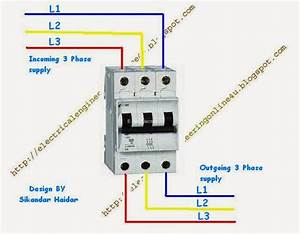 How To Wire 3 Pole Circuit Breaker