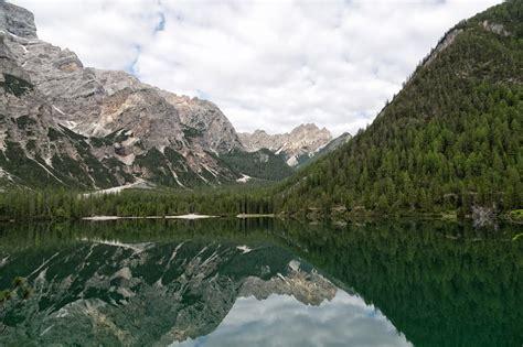 The Dolomites Ii Lake Braies Lago Di Braies Pragser