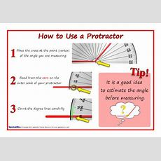 How To Use A Protractor Posters (sb6846) Sparklebox