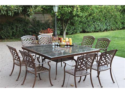 darlee outdoor living standard sedona cast aluminum dining