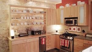 Etagere Murale Pour Cuisine : des tag res ouvertes dans la cuisine ~ Dailycaller-alerts.com Idées de Décoration