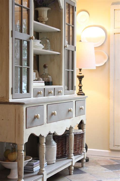 17 best ideas about hutch decorating on
