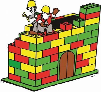 Lego Clip Clipart Cartoon Cliparts Build Legos