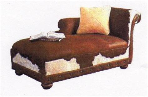 Cowhide Chaise by Cowhide Chaise Lounges Hair On Hide Chaise We Beat Free