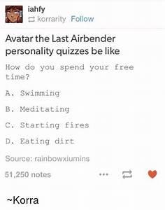 La Korrarity Follow Avatar The Last Airbender Personality