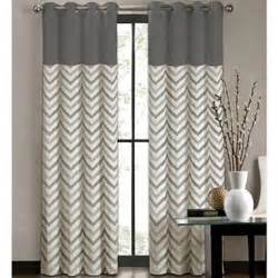colordrift tribal stripe grommet top curtain panel i jcpenney