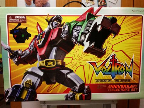 voltron cave anniversary collection box regrets itself front