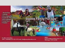 Soweto Family Fun Day at Dobsonville Stadium, Johannesburg