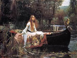 The Lady of Shalott, by Alfred Tennyson