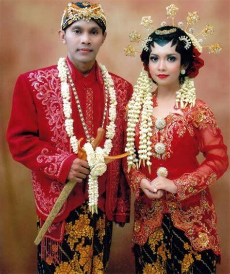 ciri khas baju pengantin adat jawa