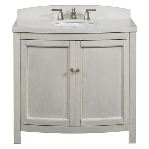 allen roth moravia antique white undermount bathroom