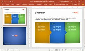 create high impact project presentations with slidehunter With three year strategic plan template