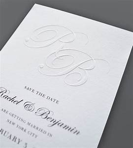 More fine printing embossed wedding invitations for Embossed text wedding invitations