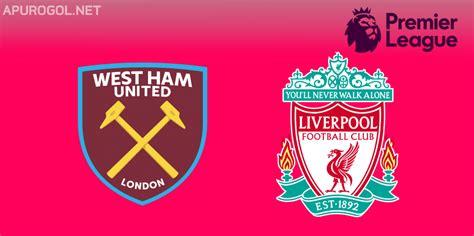 Resultado Final – West Ham 1 Liverpool 1 – Premier League ...