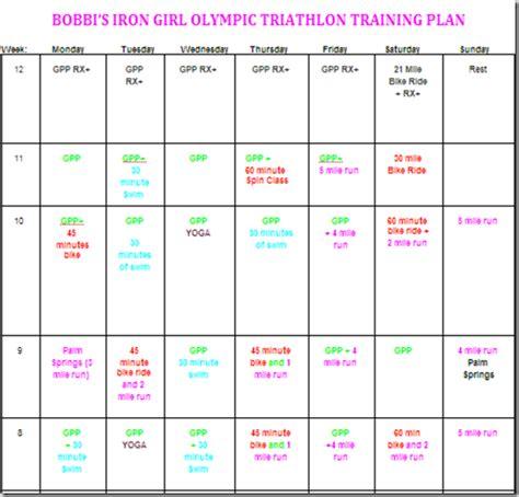 triathlon training  bobbi mccormick