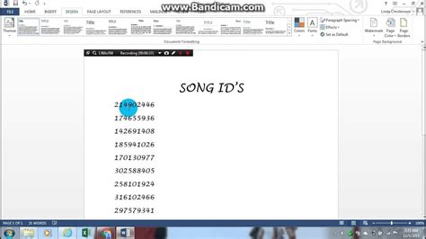 roblox song ids youtube