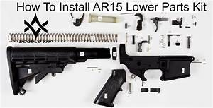 How To Install Ar15 Lower Parts Kit Diy Assembly