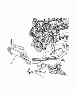 2002 Dodge Ram 1500 Power Steering Hoses