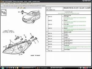 Phare Peugeot 307 : schema demontage phare 307 ~ Gottalentnigeria.com Avis de Voitures
