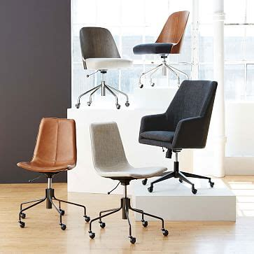 bentwood office chair west elm