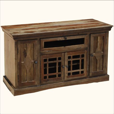 contemporary wood entertainment tv stand media center