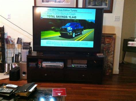 52 Inch Mitsubishi Tv by 52 Quot Tv Mitsubishi In S Garage Sale Katy Tx