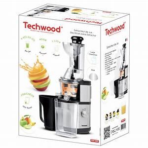Extracteur De Jus Kitchen Cook : extracteur de jus techwood ~ Melissatoandfro.com Idées de Décoration