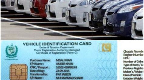 Vehicle Registration Smart Card Expected To Launch On 15th