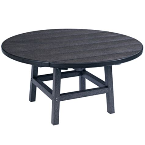 round plastic coffee table recycled plastic round coffee table patio furniture at