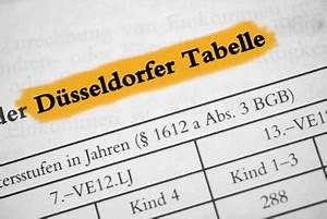 Unterhalt Für Kind Berechnen : d sseldorfer tabelle kindesunterhalt berechnen ~ Themetempest.com Abrechnung