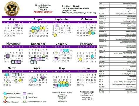 north hall middle school calendar