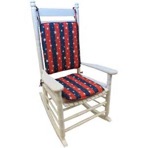 gripper 2 piece delightfill rocking chair cushions