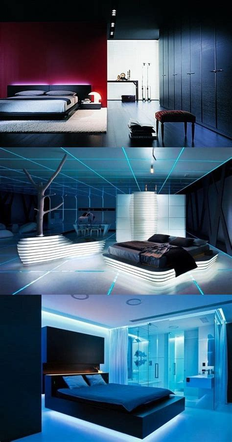 ideas  designing  futuristic bedroom interior design