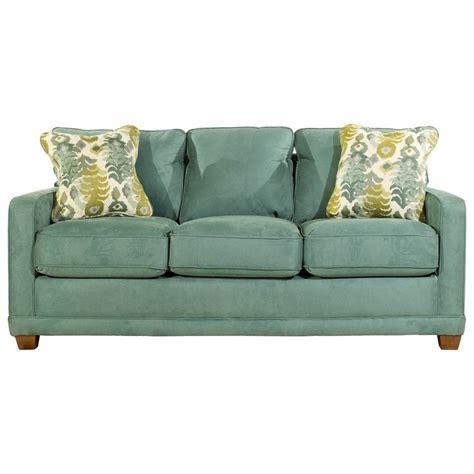 la z boy sleeper sofa la z boy kennedy transitional supreme comfort queen sleep