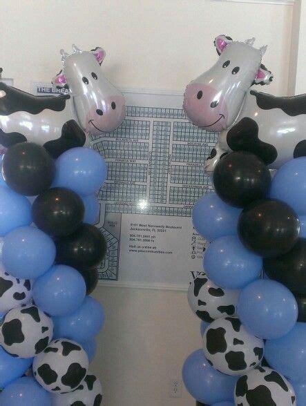 Cowhide Balloons by Cow Print Balloon Columns In 2019 Cow Print Balloon