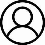 Icon User Transparent Person Icons Login Account