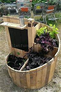 11 DIY Pallet Planters Design DIY and Crafts