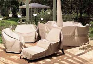 how to protect outdoor furniture from snow and winter With lawn furniture plastic covers