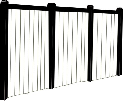 Black And White Fence Clip Art At Clker.com
