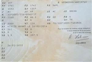 Code Moteur Carte Grise : comment trouver la denomination commerciale d un vehicule ~ Maxctalentgroup.com Avis de Voitures