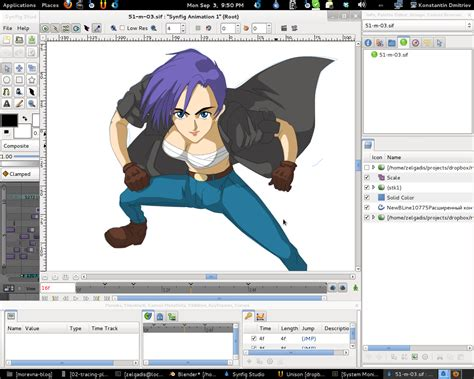 synfig studio   animation software