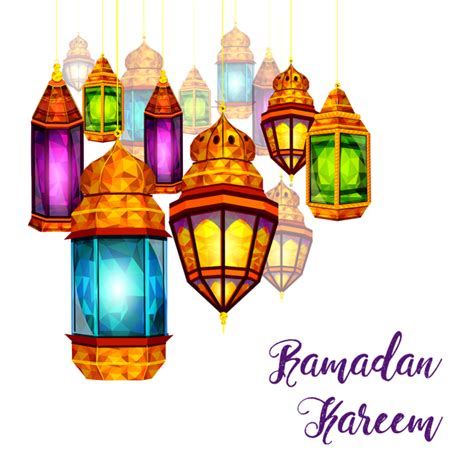 ramadan kareem element  lights ramadan kareem