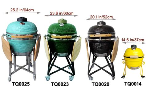 China Portable Ceramic Kamado Charcoal Manufacturer