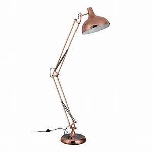 copper giant retro floor lamp With piper copper floor lamp